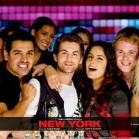 John Abraham,Katrina and Neil Nitin looking in a enjoyable mood in New York