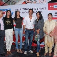 Arjun Rampal, Neetu and Sherlyn at CPAA women's day celeberations at IMAX Wadala. .