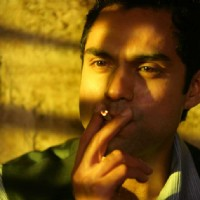 Abhay Deol smoking in the movie Dev D | Dev D Photo Gallery