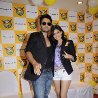Jackky Bhagnani and Pooja Gupta at F.A.L.T.U film music launch at Planet M, Mumbai