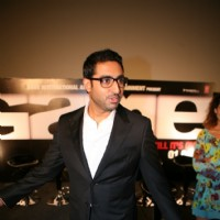 Abhishek Bachchan at Game film Press Conference at Cinemax Versova, Mumbai | Game(2011) Event Photo Gallery