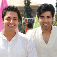 Sill image of Siddharth and Viren