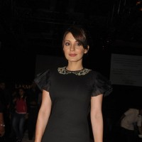 Minissha Lamba at Lakme Fashion Week