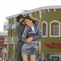 Love scene of Ajay and Kareena