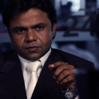 Rajpal Yadav looking in serious mood