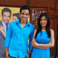 Tusshar Kapoor and Amrita Rao at Love U... Mr. Kalakaar! Promo Shoot in Filmcity | Love U... Mr. Kalakaar! Event Photo Gallery