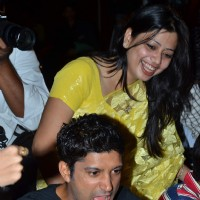 Farhan Akhtar at Zapak.com Game film event at Novotel. . | Game(2011) Event Photo Gallery