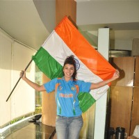 Mink Brar celebrate World Cup Final 2011 at Peninsula hotel
