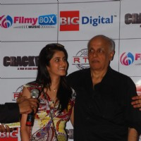 Mahesh Bhatt & Smily Suri at Crackers music launch at Juhu