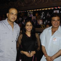 Ashutosh Gowariker and Raj Babbar Ekjute Theatre 30th year celebrations at Prithvi, Juhu. .