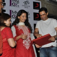 Juhi Chawla and Sanjay Suri at music launch of film 'I Am' | I Am Event Photo Gallery