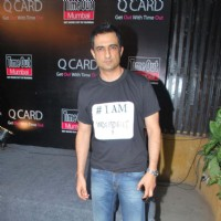 I AM film starcast Sanjay Suri at Time Out magazine Q Card launch at Bonobo. . | I Am Event Photo Gallery