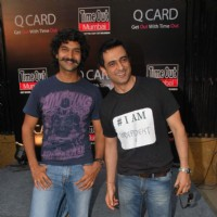 I AM film starcast Purab Kohli and Sanjay Suri at Time Out magazine Q Card launch at Bonobo. . | I Am Event Photo Gallery