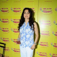 Juhi Chawla at Radio Mirchi studio, Lower Parel for I AM movie | I Am Event Photo Gallery