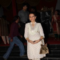Prachi Shah at premiere of movie 'Balghandarva'