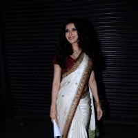 Nandana Sen at Tagore Literature Awards at Ravindra Natya Mandir. .
