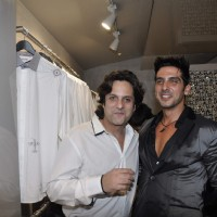 Fardeen Khan and Zayed Khan at Rohit & Rahul Gandhi store launch, Khar in Mumbai