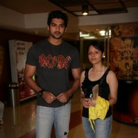 Aditya Redij and Natasha Sharma at Yogesh Lakhani Bright at film 'Ready'