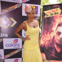 Participants at Fear Factor Khatron Ke Khiladi Season 4 bash