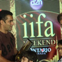 Salman Khan at IIFA PRESS meet to announce Chillar Party Film and Enviorment initiatives, Taj land's End | Chillar Party Event Photo Gallery