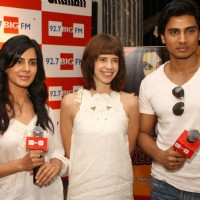 "Kalki with the cast of ""Shaitan""  at the launch of 92.7 BIG FM's ""Bollywood Secrets"", in New Delhi 