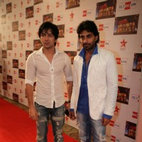 Rohit Khurana and Sharhaan Singh at Big Television Awards at YashRaj Studios