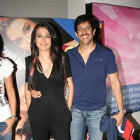 Mini Mathur with husband at Premiere of the Movie Always Kabhi Kabhi at PVR, Juhu | Always Kabhi Kabhi Event Photo Gallery