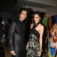 Ali Fazal and Giselle Monteiro at Premiere of the Movie Always Kabhi Kabhi at PVR, Juhu | Always Kabhi Kabhi Event Photo Gallery