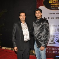 Aditya Redij at the Gold Awards at Film City