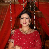 Ritu Vij at Chhajje Chhajje Ka Pyaar tvshow on location shoot