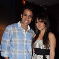 Minissha Lamba and Tusshar Kapoor at Bheja Fry 2 success bash, Cest la Vie