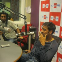 Ajay Devgan visited BIG 92.7 FM studios to promote movie 'Singham' | Singham Event Photo Gallery