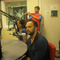 Rohit Shetty visited BIG 92.7 FM studios to promote movie 'Singham' | Singham Event Photo Gallery