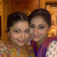 Divya Bhatnagar and Ankita Sharma