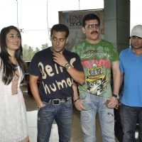 Salman, Aditya Pancholi and Kareena at the first look of movie Bodyguard | Bodyguard Event Photo Gallery