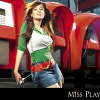 Amrita Rao on Miss Players in short jeans