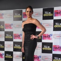 Esha Deol unveil Tell Me O Khuda look at Cinemax, Mumbai. . | Tell Me O Kkhuda Event Photo Gallery