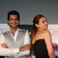 Hema and Esha Deol unveil the film 'Tell Me O Kkhuda' look at Cinemax | Tell Me O Kkhuda Event Photo Gallery