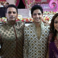 Karthik with Jai and Neha in Bade Acche Laggte Hai