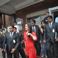 Kareena Kapoor during the promotion of film 'Bodyguard' with celebrities Bodyguards | Bodyguard Event Photo Gallery