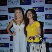 Uvika Choudhary and Liana Warner Gray- Miss Australia Earth 2009 at The Man in the Maze premiere