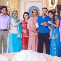 Cast and Crew on the sets of Ye Rishta Kya Kehlata Hai