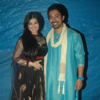 Ayesha Takia and Rannvijay Singh at the audio launch of film MOD at Andheri Cha Raja, Veera Desai Ro