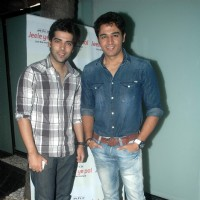 Gaurav Khanna and Kinshuk Mahajan at Ritz Jee Le Ye Pal press meet, Vie Lounge