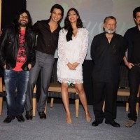 Pankaj, Anil, Pritam, Shahid and Sonam at Mausam film music success bash at JW Marriott | Mausam Event Photo Gallery