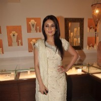 Minissha Lamba at Anmol Jewellers promotional event, Bandra