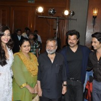 Anil, Shahid, Sonam, Supriya and Pankaj Kapoor at Music success party of film 'Mausam' at  JW Marrio | Mausam Event Photo Gallery