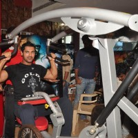 John Abraham promotes his film Force at Gold Gym, Bandra in Mumbai | Force Event Photo Gallery