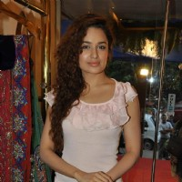 Uvika Choudhary at Nisha Sagar's latest collection launch at Juhu, Mumbai