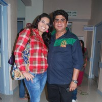 Tanya Abrol with Producer Rajan Shahi's new show Kuch Toh Log Kahege bash